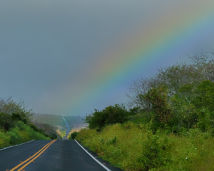 Rainbow Over Santa Cruz