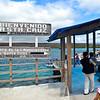 Boarding the ferry across the channel to Santa Cruz island