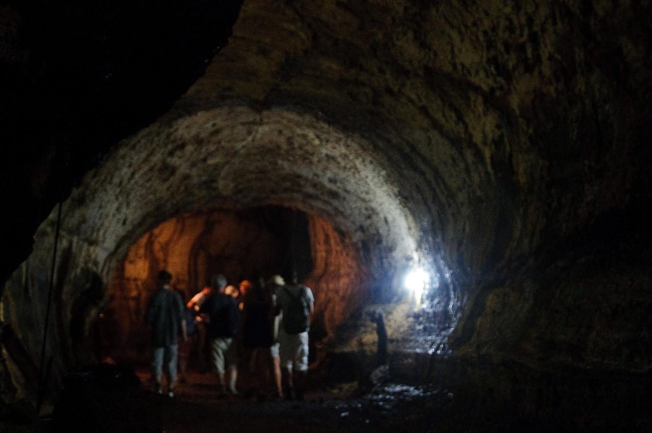 Exploring a Lava Tube