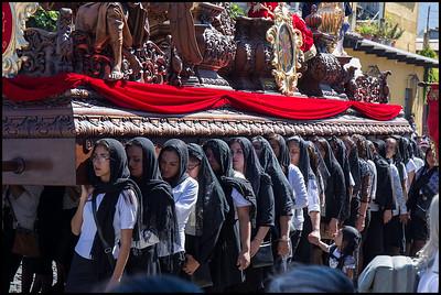 Semana Santa procession, Antigua
