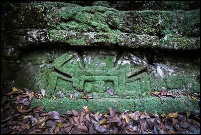 Mayan inscription