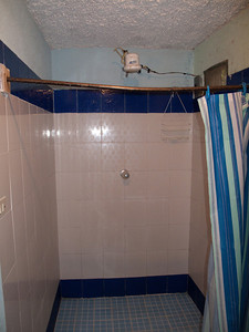 Hotel Shower with Hot Water