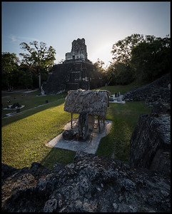 View of Temple I and the Gran Plaza, Tikal