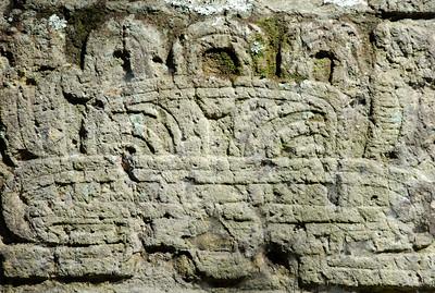 The Mayan ruins of Copan...