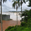 First big view from Argentinian side. Iguazu National Park, Argentina