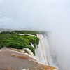 View just down from the Devil's Throat. Iguazu Falls National Park, Argentina