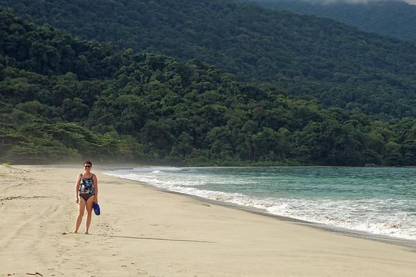 Castelhanos beach, a dead ringer fro Las Cuevas