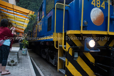 Aguas Calientes Train