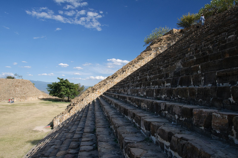 Monte Alban Temple Stairs