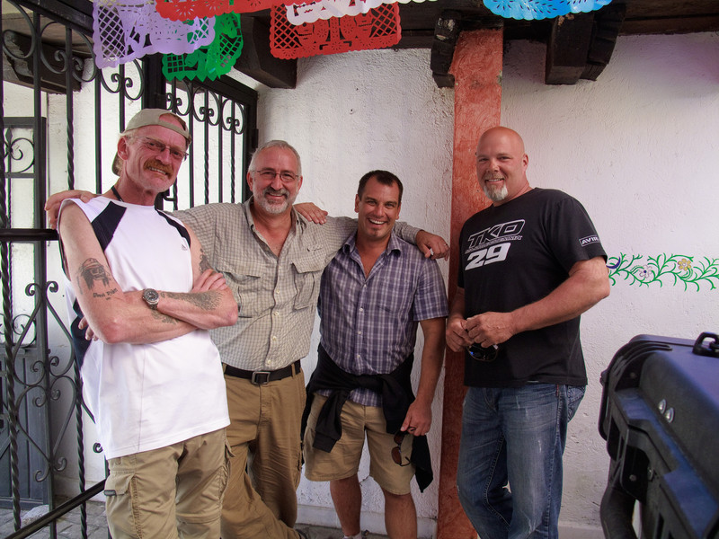 ADVRiders in San Cristobal