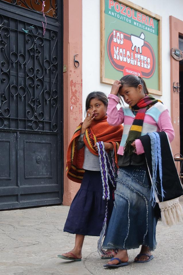 Street Venders in San Cristobal