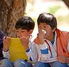 Schoolchildren in Molinos