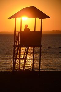 Sunset in Encarnacion..