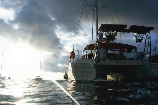 the Catamaran 360. August 2017