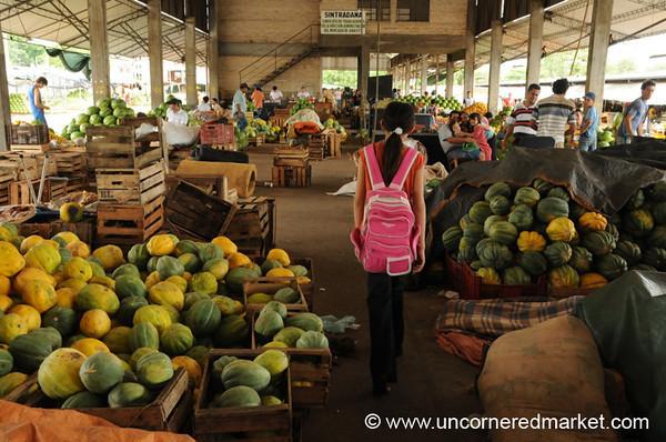 Walking Through the Abasto Market - Asuncion, Paraguay