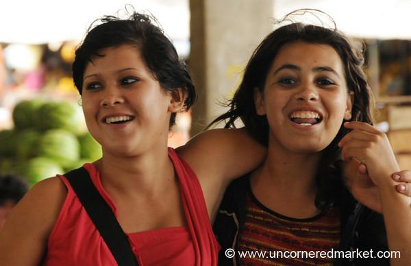 Caught Smiling - Asuncion, Paraguay