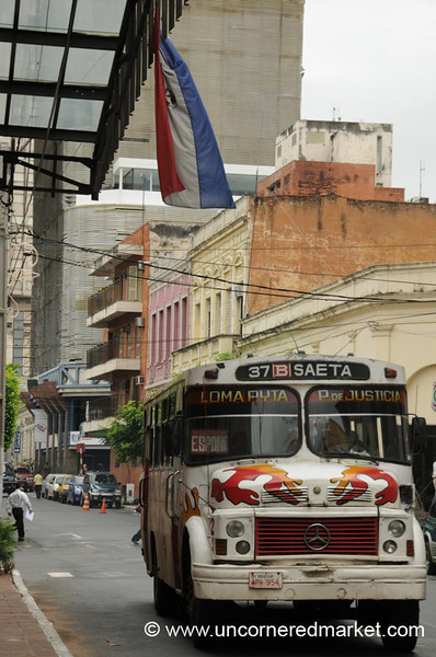 Chicken City Bus - Asuncion, Paraguay