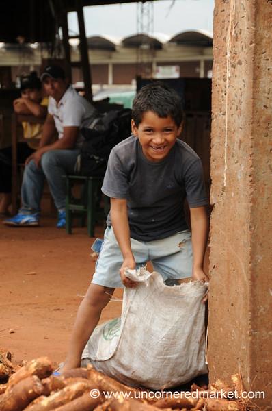 Bagging Cassava - Asuncion, Paraguay