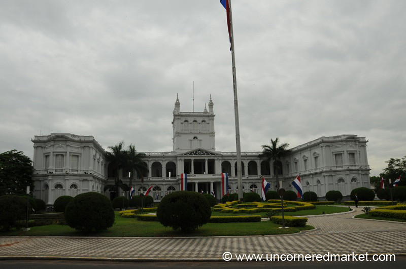 President's House in Asuncion, Paraguay