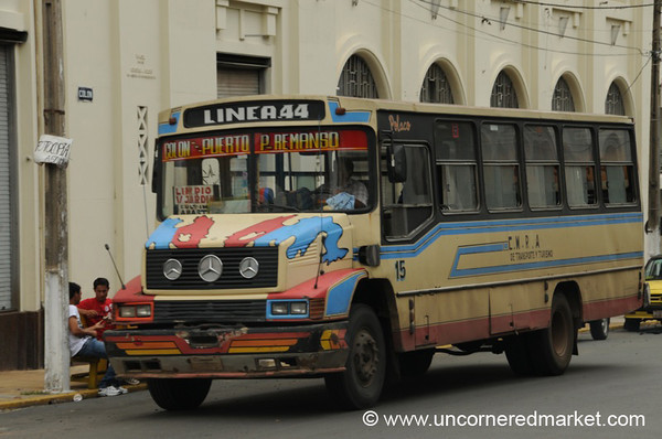 Public Transport in Asuncion, Paraguay