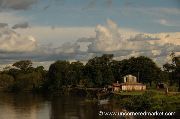 Living on the River - Outside Concepcion, Paraguay
