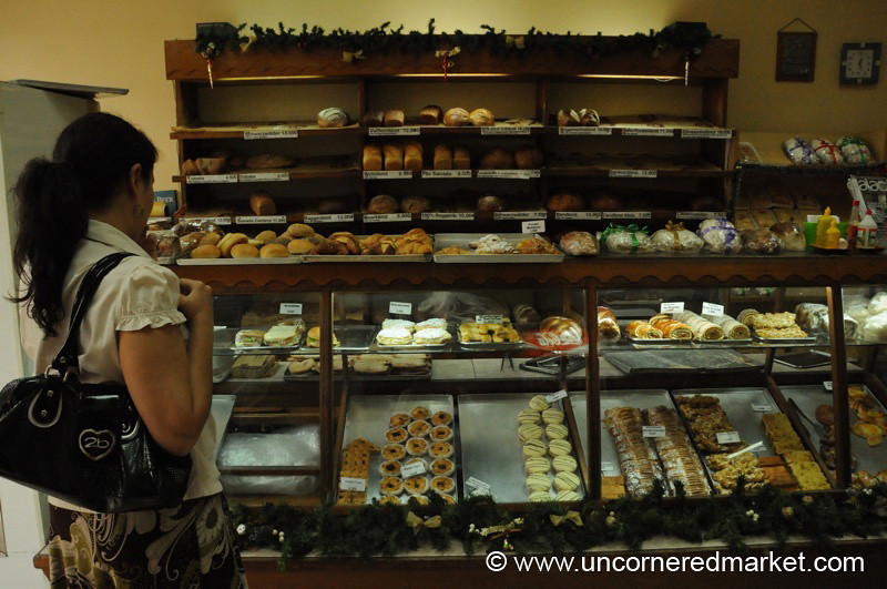 German Bakery in Asuncion, Paraguay