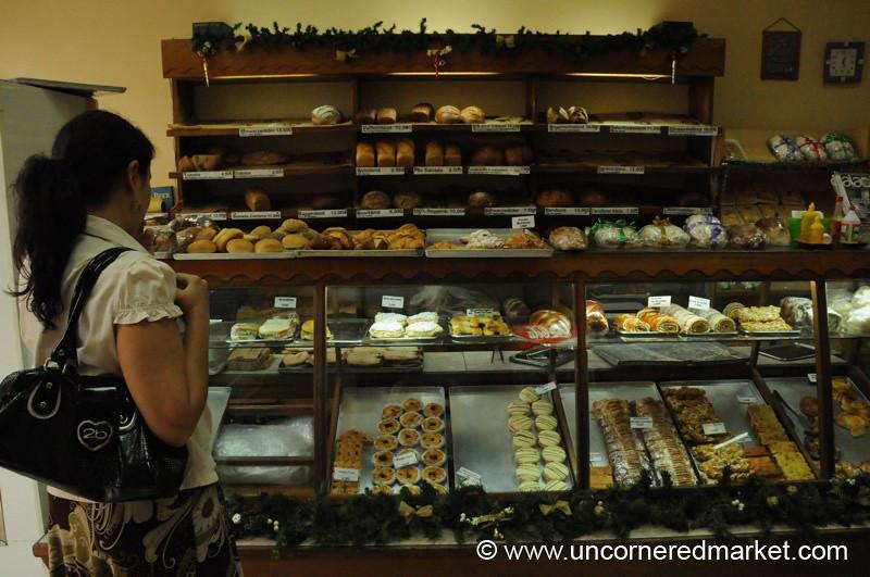German Bakery in Asuncion, Paraguay