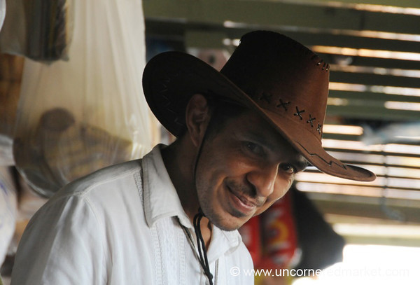 Bashful Smile - Boat Trip on Rio Paraguay