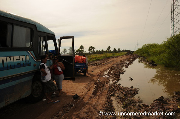 The Start of a Hellish Trip - Vallemi to Concecpcion, Paraguay