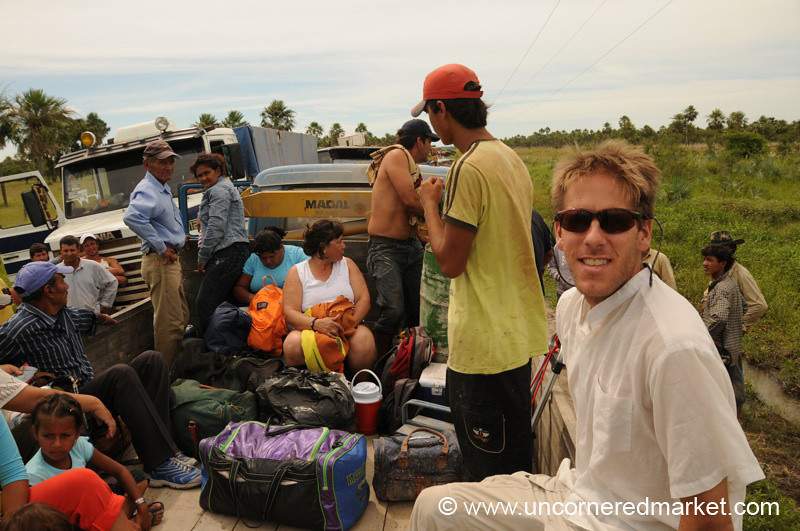 Stranded on the Truck - Vallemi to Concepcion, Paraguay