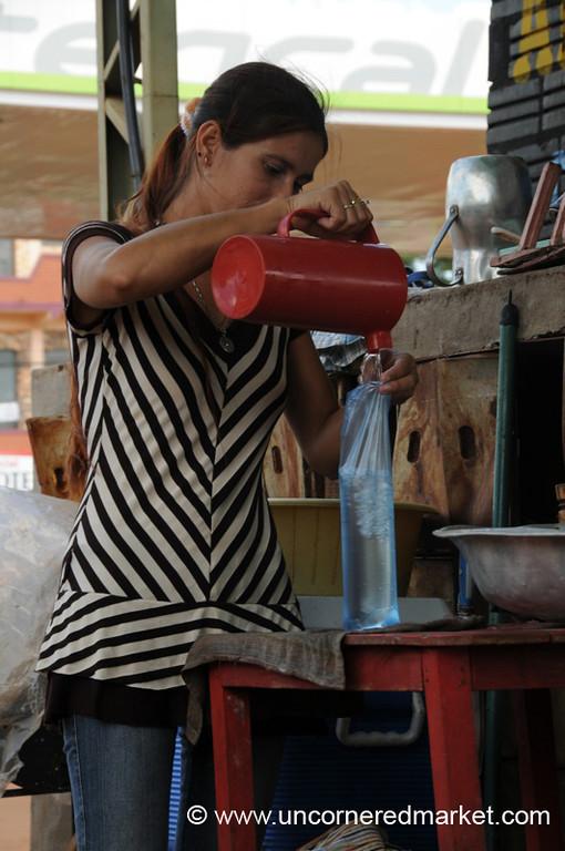 The Paraguayan Ice Cube - Encarnacion, Paraguay