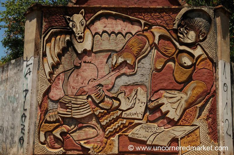 Men and Demons - San Ignacio, Paraguay