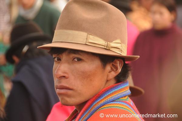 Nice Hat - Saquisili, Ecuador