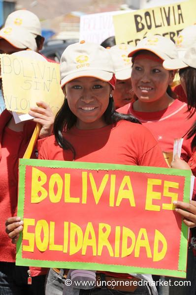 Bolivia in Solidarity - Potosi, Bolivia