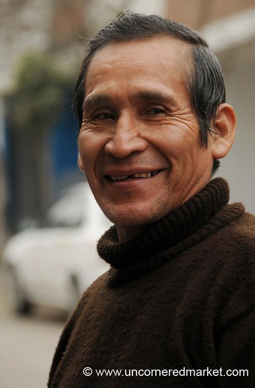 Entrepreneur Andres - San Juan de Miraflores, Lima, Peru
