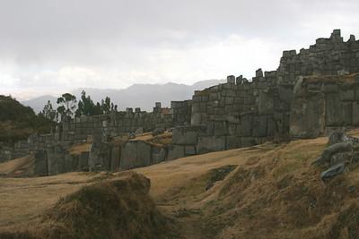 The ruins at Sacsayhuaman