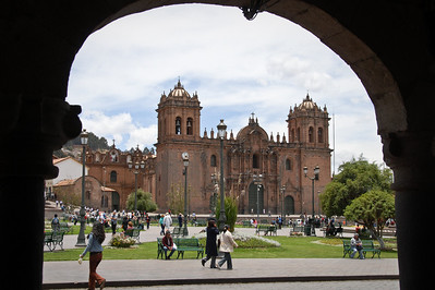 Cusco, Peru...the main square...