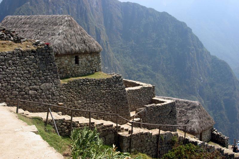 <center>Machu Picchu - Agricultural Residences    <br><br>Machu Picchu, Peru</center>