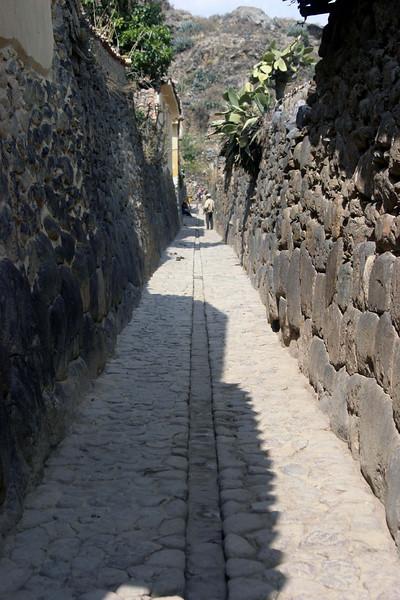 <center>Narrow Lanes    <br><br>Ollantaytambo, Peru</center>
