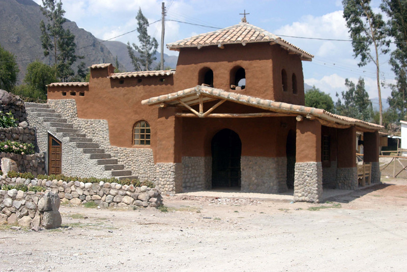 <center>Small Church    <br><br>Pisac, Peru</center>