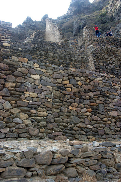 <center>Ancient Walls    <br><br>Ollantaytambo, Peru</center>