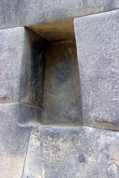 <center>Trapazoidal Openings    <br><br>Ollantaytambo, Peru</center>