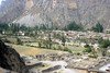 <center>Village View from Temple of the Sun    <br><br>Ollantaytambo, Peru</center>