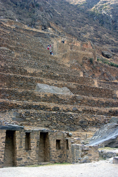 <center>Agricultural Terraces    <br><br>Ollantaytambo, Peru</center>