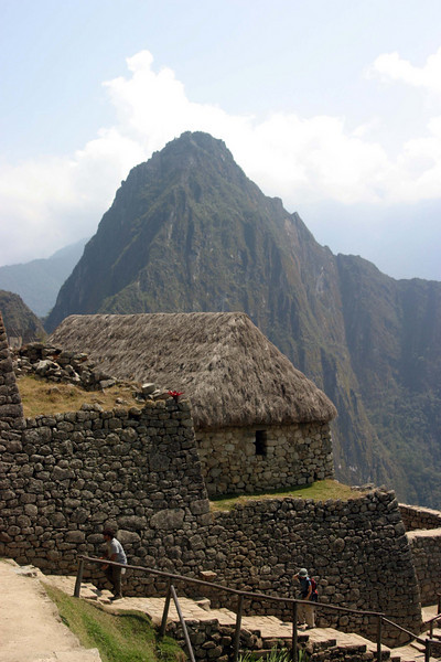 <center>Huayna Picchu in the Distance    <br><br>Machu Picchu, Peru</center>
