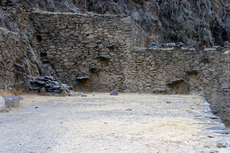 <center>Steps in the Wall    <br><br>Ollantaytambo, Peru</center>
