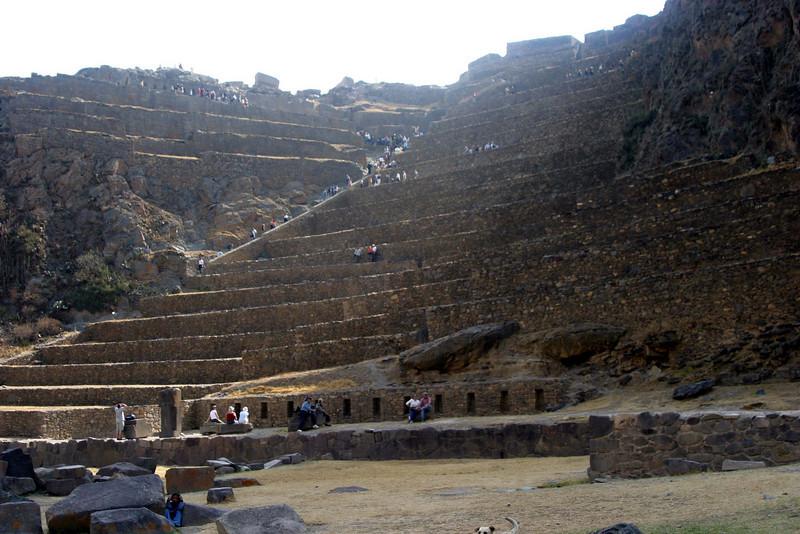 <center>Temple of the Sun    <br><br>Ollantaytambo, Peru</center>
