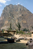 <center>Stone Houses on the Mountain    <br><br>Ollantaytambo, Peru</center>