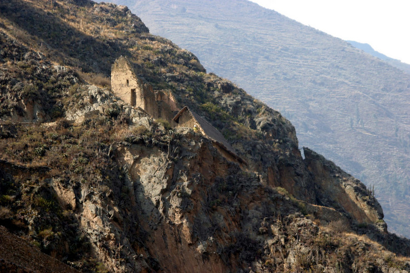 <center>More Ruins on the Hillside    <br><br>Ollantaytambo, Peru</center>