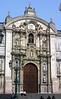 <center>Cathedral Entrance    <br><br>Lima, Peru